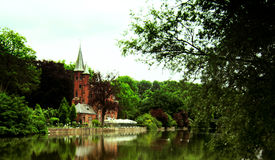 Castelo belga Foto de Stock Royalty Free