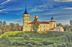 Castelo Bip Pavlovsk St Petersburg Rússia imagens de stock royalty free
