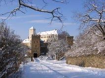 Castelo Bitov, república checa, Europa Imagens de Stock Royalty Free