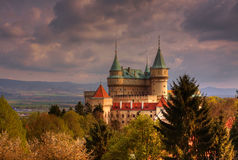 Castelo Bojnice Imagem de Stock Royalty Free
