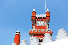 Castelo bonito Foto de Stock Royalty Free