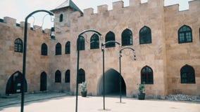 Castelo bonito no centro de Europa video estoque