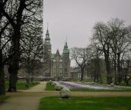 Castelo bonito no parque Imagens de Stock Royalty Free