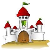 Castelo branco ilustração do vetor