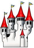 Castelo branco ilustração stock