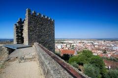 Castelo Branco, Centro region, Portugal. View from the Templars Castle on Castelo Branco, a city in the Centro region of Portugal Stock Image