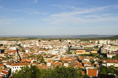 Castelo Branco, Portugal. View to Castelo Branco from the castle, Portugal Stock Images