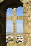 Castelo Branco, Portugal. View to Castelo Branco from the castle, Portugal Stock Image