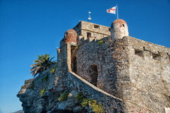 Castelo Camogli Imagem de Stock