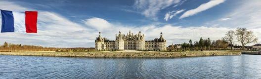Castelo Chambord fotografia de stock royalty free