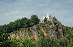 Castelo checo de Decin Foto de Stock