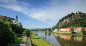 Castelo checo de Decin Fotografia de Stock Royalty Free