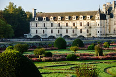 Castelo Chenonceau - Loire Valley, France imagens de stock
