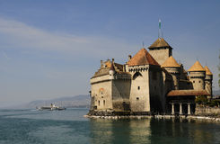 Castelo Chillon Fotos de Stock Royalty Free