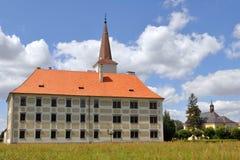 Castelo Chropyne, república checa fotos de stock