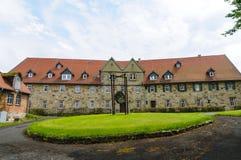 Castelo, cidade de Wolfhagen, Alemanha Foto de Stock