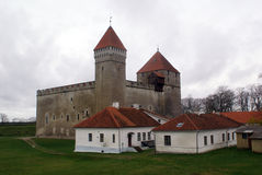 Castelo cinzento Fotos de Stock Royalty Free