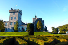 Castelo Co. Clare Ireland de Dromoland Fotos de Stock Royalty Free