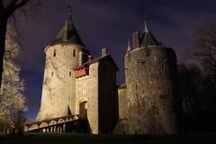 Castelo Coch - Cardiff Wales Fotos de Stock Royalty Free