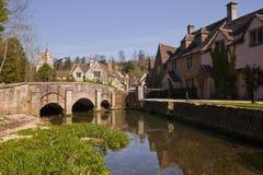 Castelo Combe, Wiltshire, Inglaterra, Reino Unido. fotografia de stock royalty free