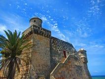 Castelo cubano da aldeia piscatória Foto de Stock Royalty Free