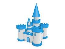 castelo 3d Fotografia de Stock Royalty Free
