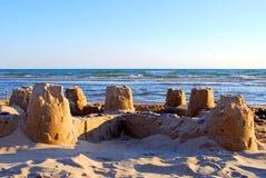 Castelo da areia Foto de Stock