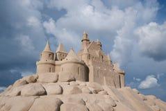 Castelo da areia. Imagens de Stock