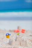 Castelo da areia Fotografia de Stock