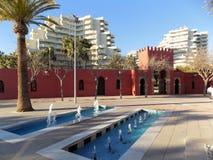 Castelo da Bil-Bil-Benalmadena-Malaga-Andaluzia imagem de stock