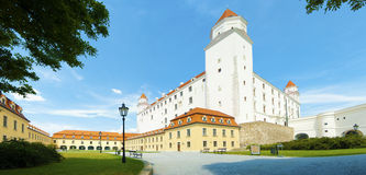 Castelo da cidade de Bratislava Foto de Stock Royalty Free