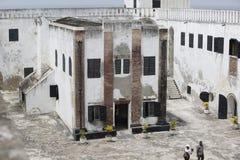 Castelo da costa do cabo Imagens de Stock Royalty Free