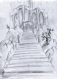 Castelo da fantasia Imagens de Stock Royalty Free