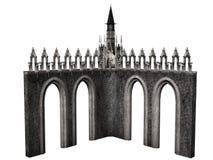 Castelo da fantasia Fotografia de Stock Royalty Free