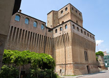 Castelo da música. Noceto. Emilia-Romagna. Italy. imagem de stock