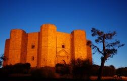 Castelo da montagem Fotografia de Stock Royalty Free