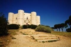 Castelo da montagem Fotos de Stock Royalty Free