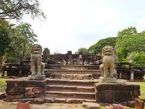 Castelo da pedra de Phimai Fotografia de Stock Royalty Free