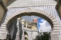 Castelo DA Pena Fotos de archivo