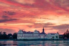 Castelo da pensão de Neuhaus am Foto de Stock