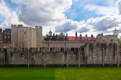 Castelo da torre, Londres, Inglaterra Fotos de Stock Royalty Free