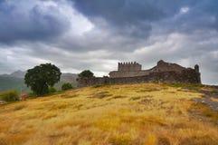 Castelo da vila de Lindoso Fotografia de Stock