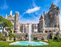 Castelo das casas LOMA em Toronto, Canadá Fotos de Stock Royalty Free