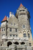 Castelo das casas LOMA em Toronto, Canadá Foto de Stock