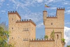 Castelo das Lamas, san Martin, peru Fotografia de Stock