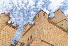Castelo das Lamas, san Martin, peru Imagem de Stock Royalty Free