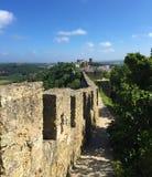 Castelo de Óbidos – a castle with roots deep in antiquity stock photos