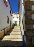 Castelo de à «â€ di bidos «un castello con le radici in profondità nell'antichità fotografia stock
