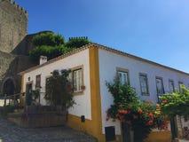 """Castelo DE à """"bidos †""""een kasteel met wortels diep in antiquiteit royalty-vrije stock afbeelding"""
