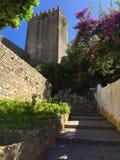 """Castelo DE à """"bidos †""""een kasteel met wortels diep in antiquiteit royalty-vrije stock afbeeldingen"""